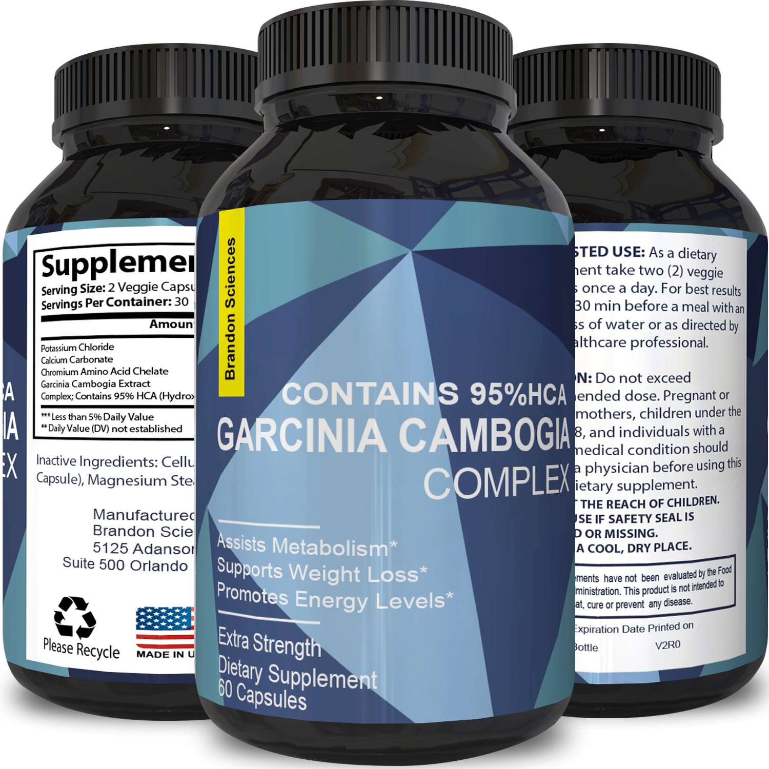 Biogreen Labs Nutritional Supplement Store Garcinia Cambogia 95 Hca Pure Extract Potent Natural Appetite Suppressant And Weight Loss For Women Men Gmp Certified Made In The Usa
